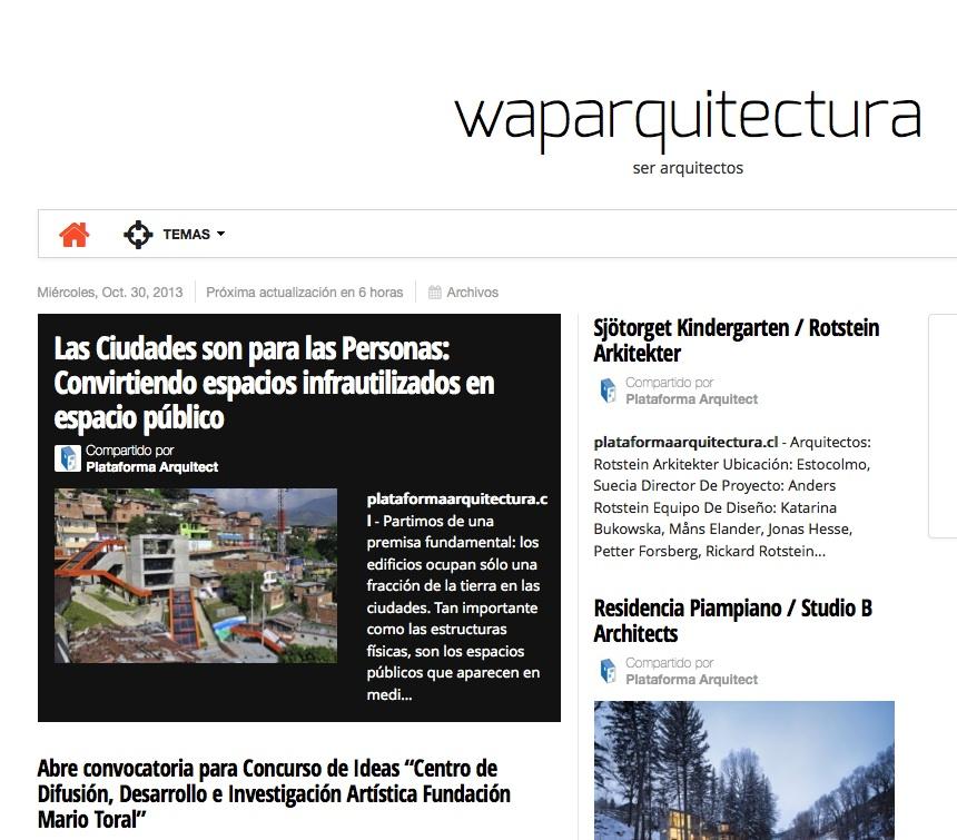 Noticias Waparquitectura en paper.li